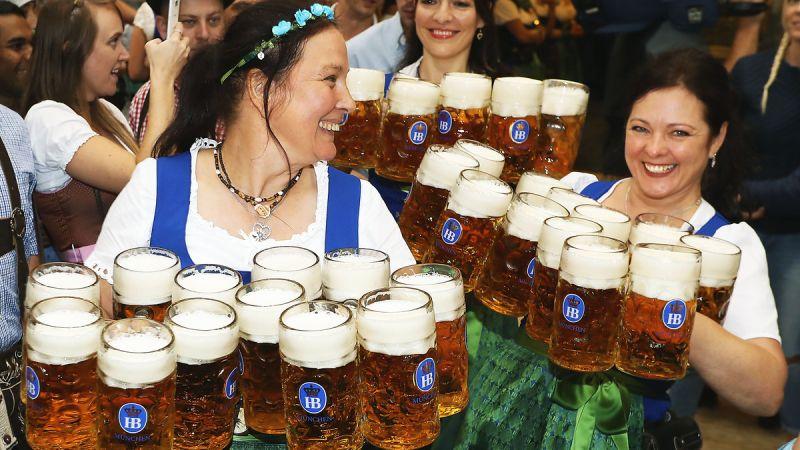 Najväčší pivný festival na svete je Oktoberfest