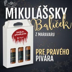 Mikulášsky balíček Maravar pre každého pivára, to je ten správny mikulášsky darček