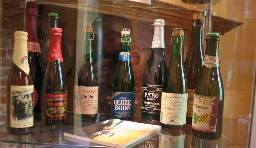 Pivo Lambic z Belgicka